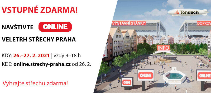 Střechy Praha 2021