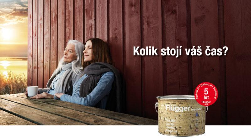 Flügger oleje na dřevo